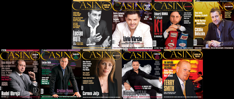 Casino Life & Business Magazine - Brand and layout made for Arte Vizuale Media